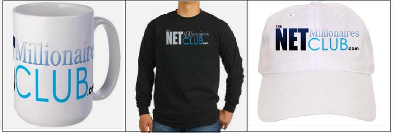 The Net Millionaires Club Gear